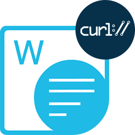 Aspose.Words Cloud for cURL